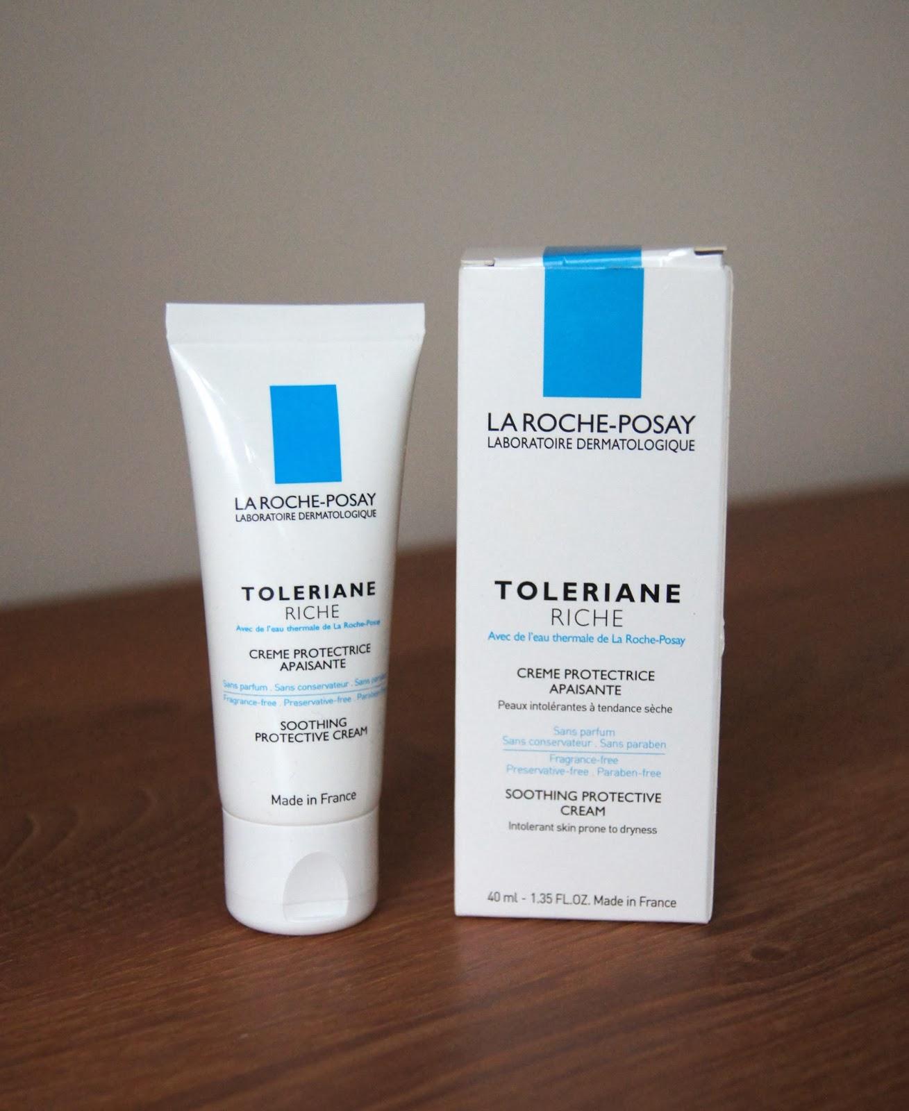 la roche posay toleriane riche soothing protective cream moisturiser review