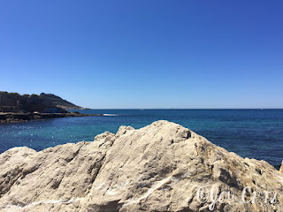 Marseille, mer méditerranée