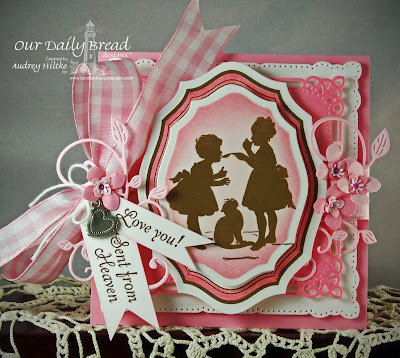 ODBD Little Girls and Elegant Ovals Stamps & Dies