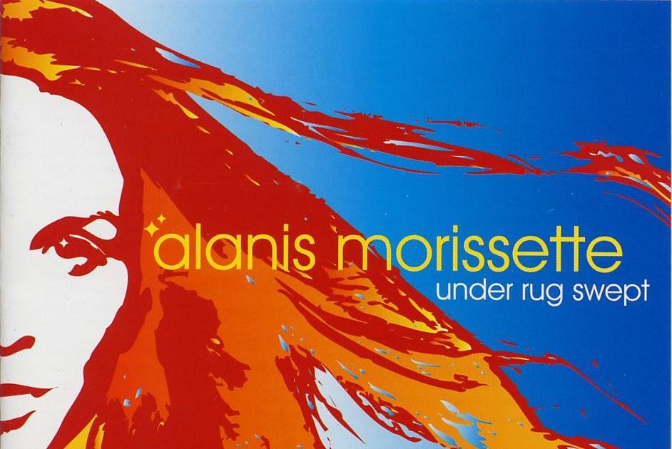 Encartes Pop Encarte Alanis Morissette Under Rug Swept