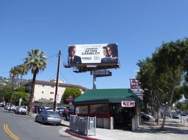 Kennedys After Camelot TV billboard