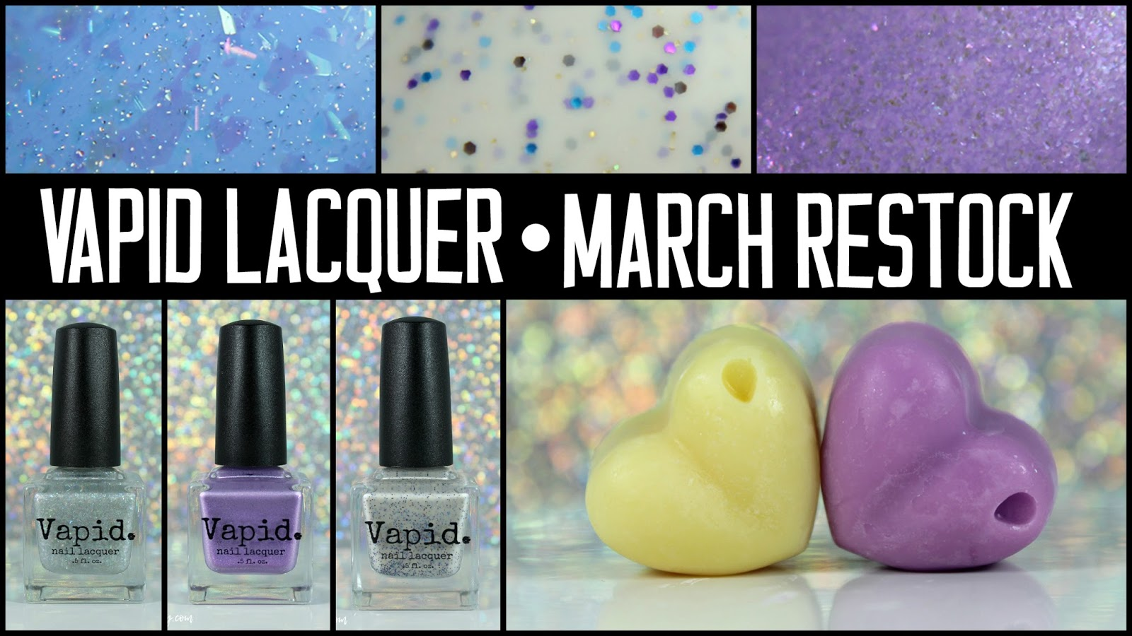 Bedlam Beauty: Vapid Lacquer | March Restock