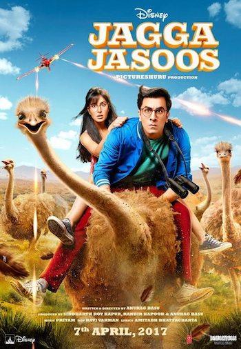 Jagga Jasoos 2017 Hindi 480p HDTV 400mb