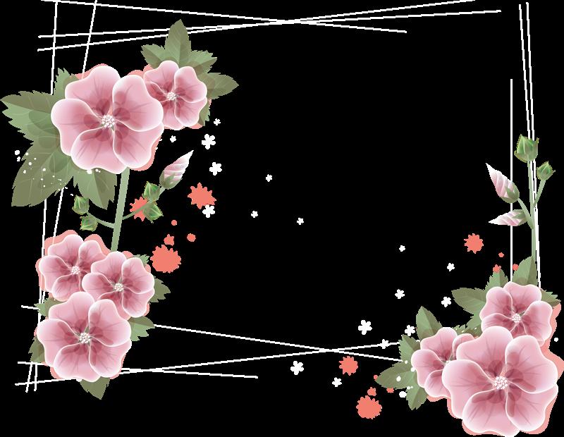 Marcos Esquineros Para Fotos De Flores: Marcos Para Fotos Png: Arboles Y Flores Png 2