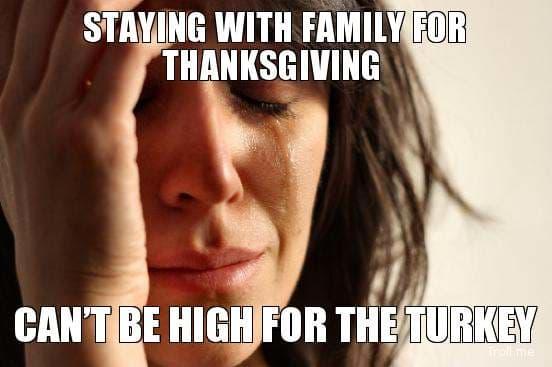 high for turkey