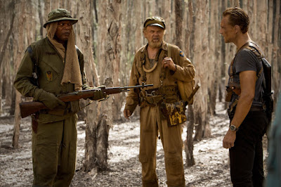 Tom Hiddleston, John C. Reilly and Samuel L. Jackson in Kong: Skull Island (38)