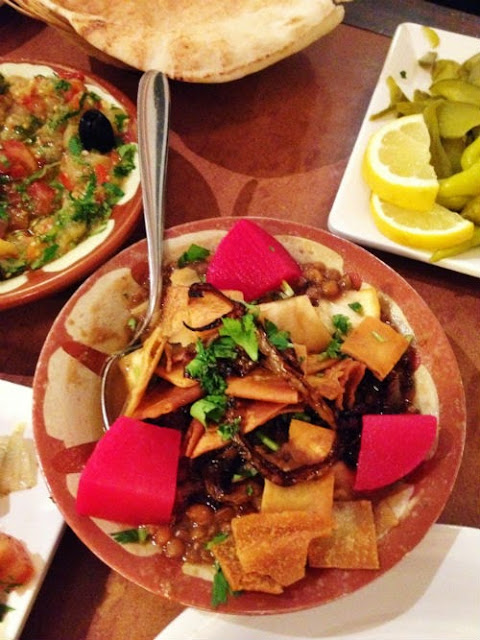 Syrian Food at Abu Zaad