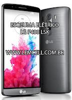 Esquema Elétrico Celular LG G3 F400 LSK Manual de Serviço  Service Manual schematic Diagram Cell Phone Smartphone Celular LG G3 F400 LS