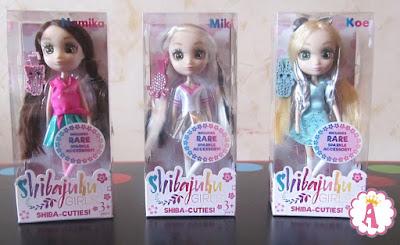 Обзор и распаковка японских аниме Shibajuku Girls mini Shiba-Cuties