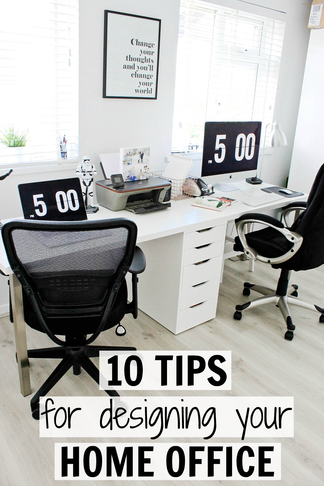 10 tips for designing your own modern home office uk family