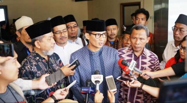 Sandiaga Uno Minta Presiden Jokowi Tak Membuat Pernyataan yang Memicu Kegaduhan