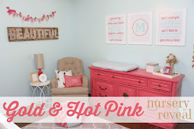 Tattered And Inked Gold Amp Pink Nursery Colors Amp Source List