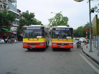 Transporte en Autobus por Vietnam