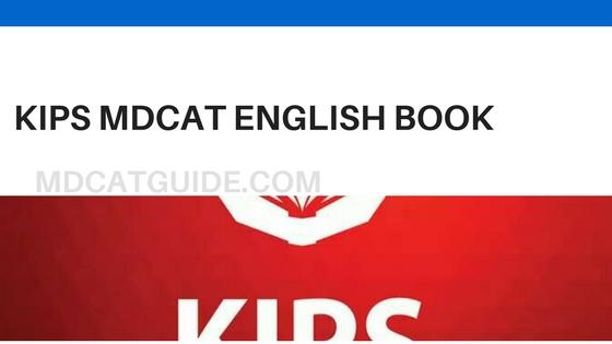 KIPS MDCAT English Book PDF | MDCAT Guide
