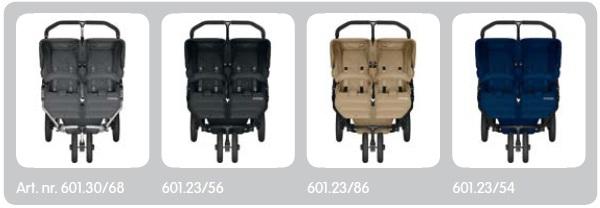 Koelstra Flexxo Twin duo en tweeling kinderwagen