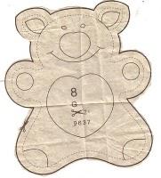 g pattern - Molde brinquedo para bebê