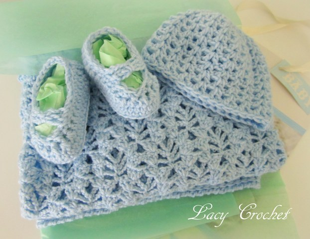 Lacy Crochet Baby Booties With Gathered Strap And My Baby