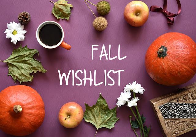 Ma Wishlist de l'automne 🍁