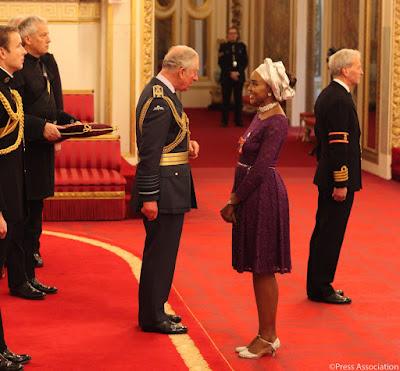 Olufunke Abimbola Akindolie - GLOBAL: Nigerians Stay Winning! Olufunke Abimbola-Akindolie awarded Member of the Order of the British Empire (MBE)