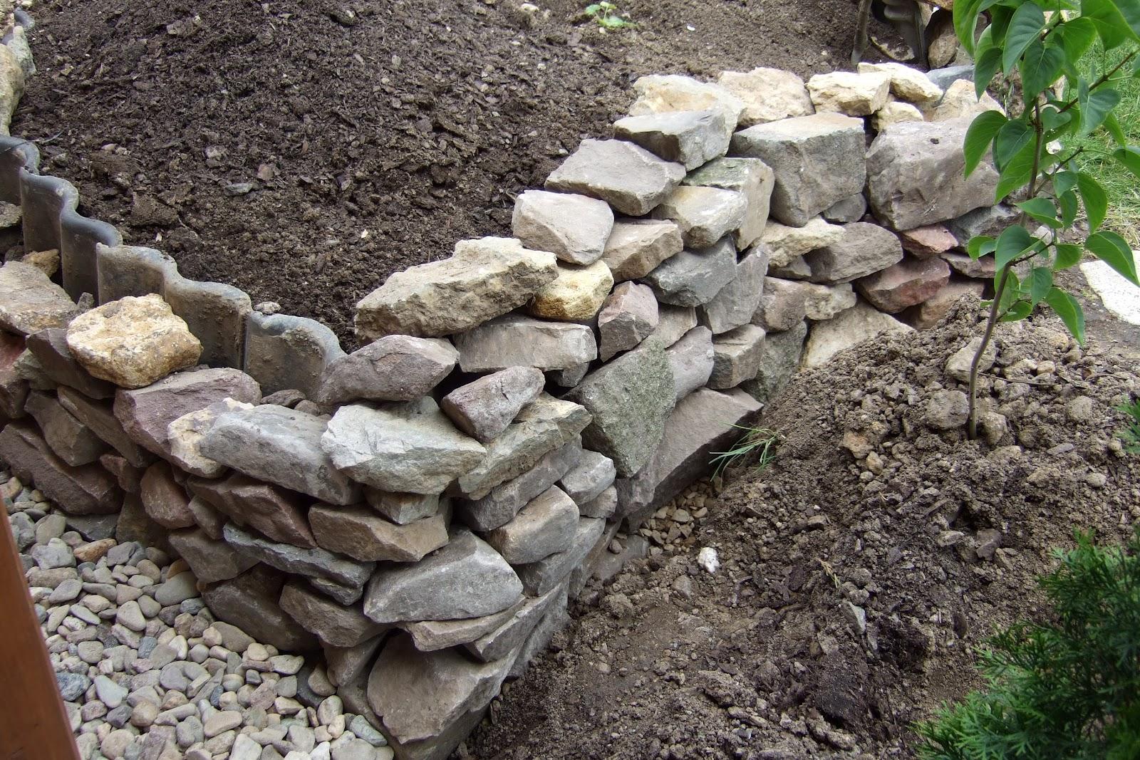 Projekt Blog Maik Muller Projekt Hochbeet Mit Natursteinmauer