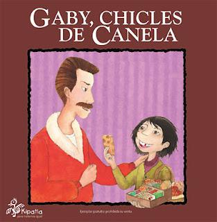 Imagen del Libro de cuentos Gaby, chicles de canela