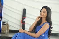 Divya Nandini stunning Beauty in blue Dress at Trendz Exhibition Launch ~  Celebrities Galleries 022.JPG
