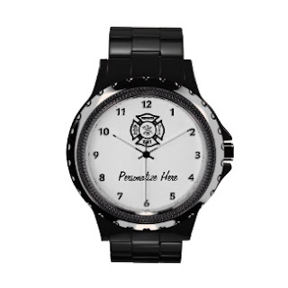 Personalized Firefighter Time For Work