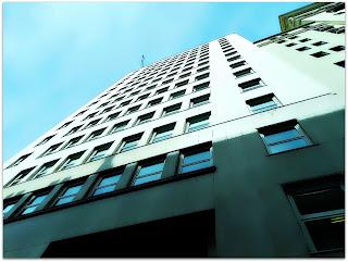 Medianeras - Edificio Comega, Avenida Corrientes, 222, Buenos Aires