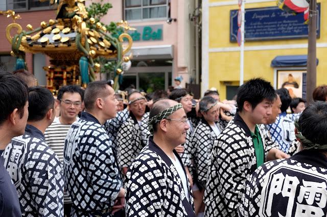 asakusa festival in tokyo japan