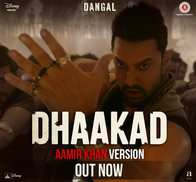 "Watch: Singer Aamir Khan's ""Dhaakad"" Song from ""Dangal"""