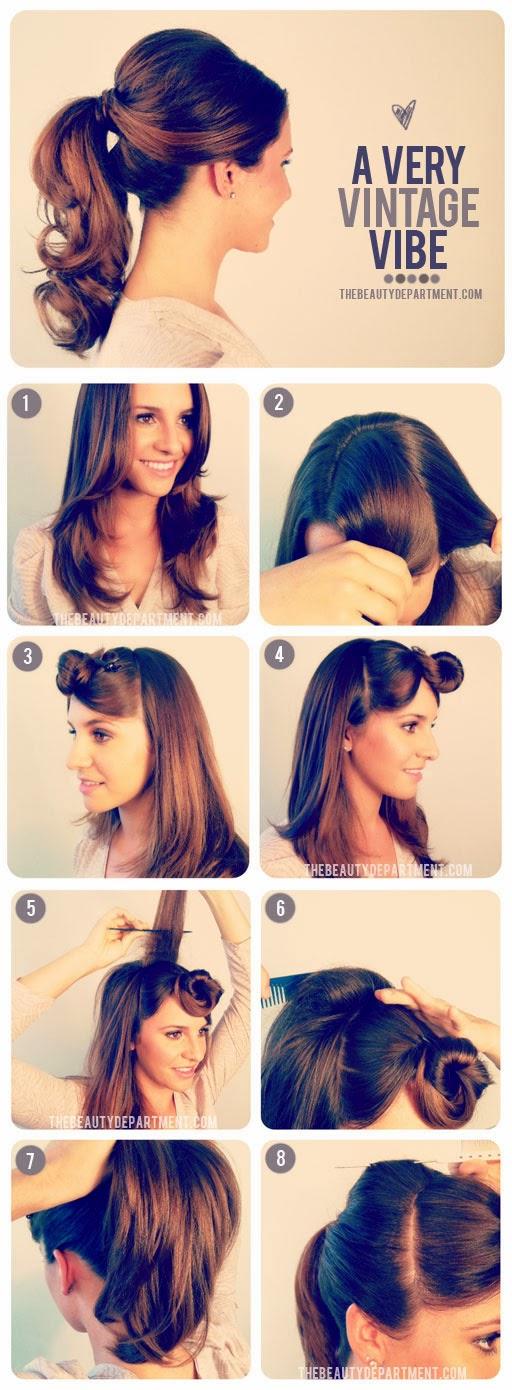 Tutorial Menata Rambut Panjang Dan Pendek Secara Mudah 13