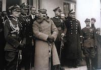 Imieniny Józefa Piłsudskiego w willi Milusin w Sulejówku