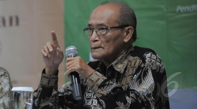 Tanggapi Prediksi Prabowo, Buya Syafi'i: Anggap Hiburan Saja Lah