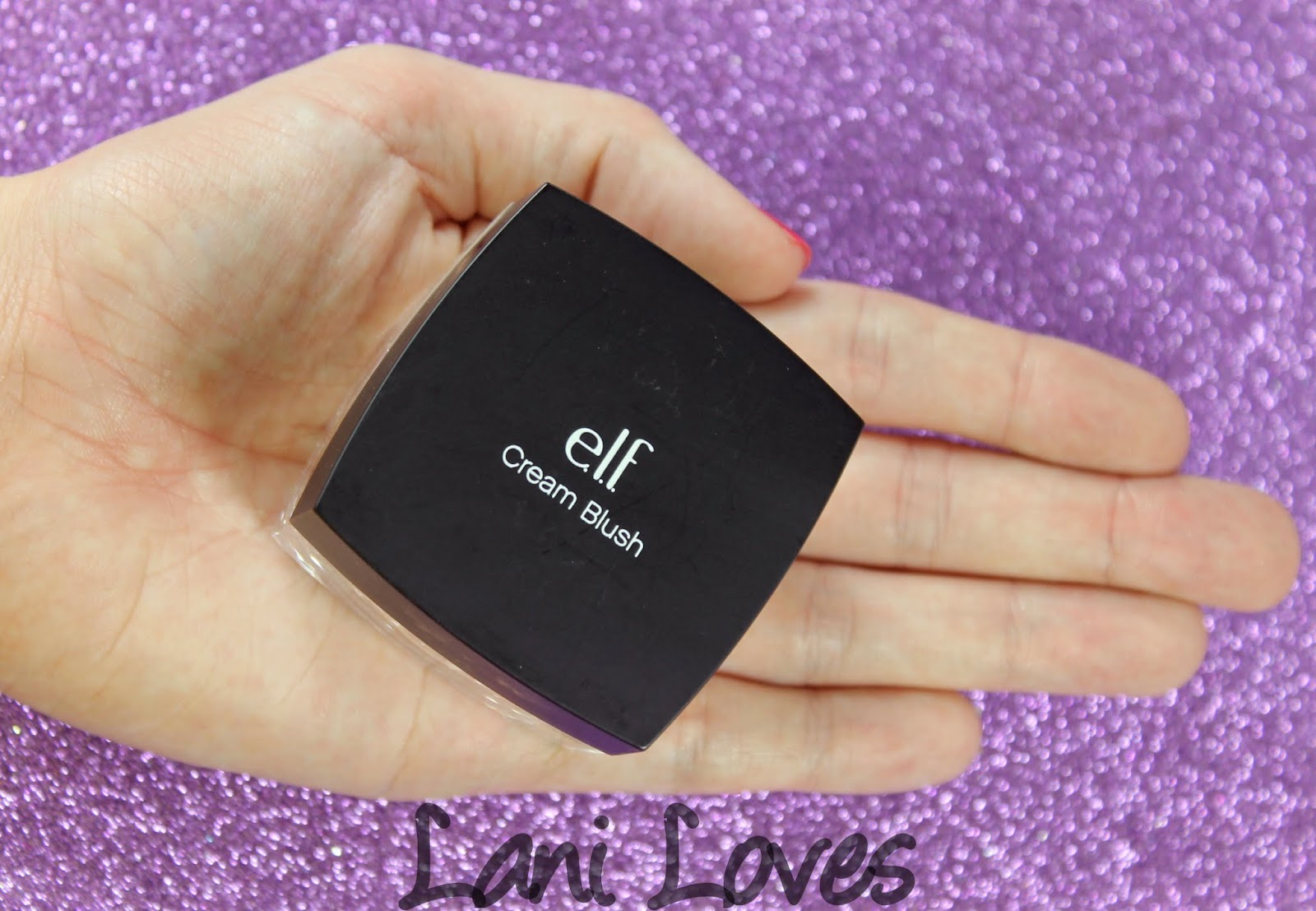 ELF Cream Blush - Seductress Swatches & Review
