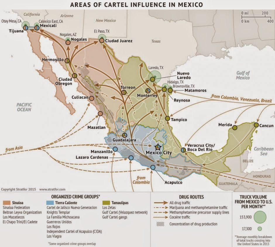 Colossal Visions: The Status of The Sinaloa Federation in 2015