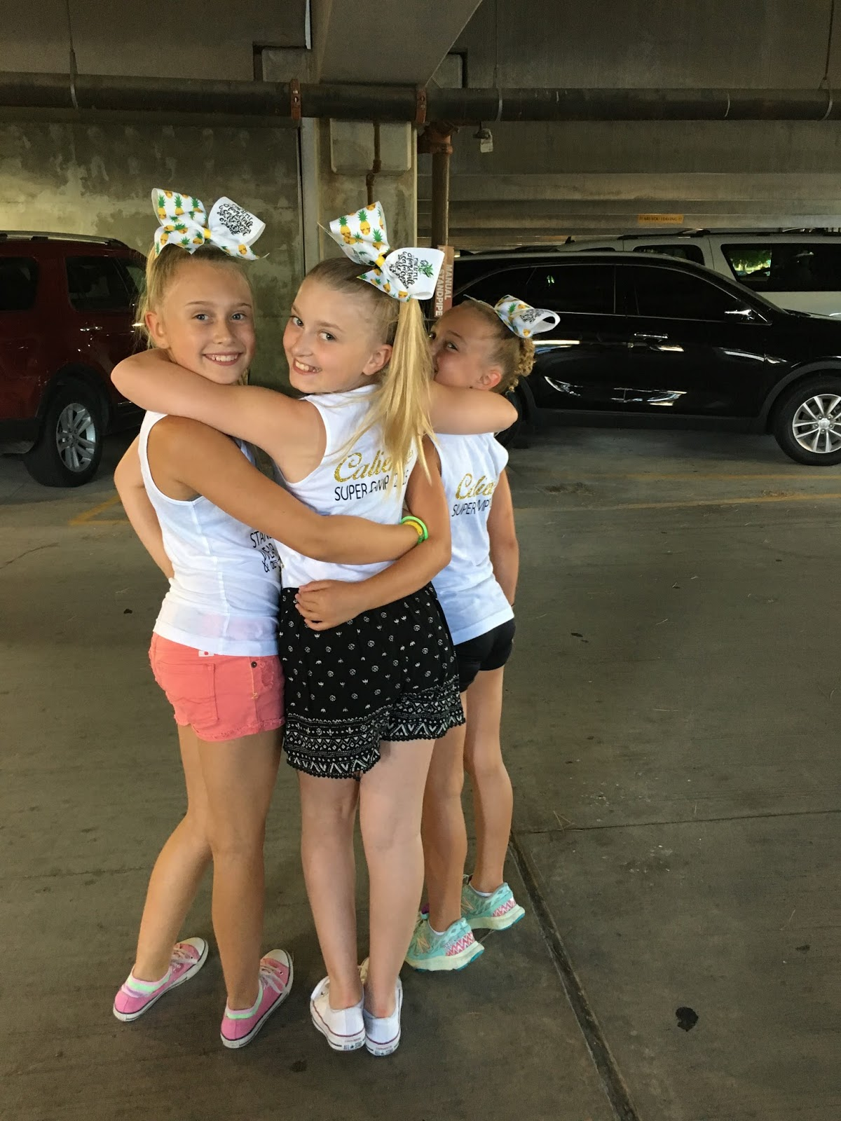 Conner Family Caliente Cheer Camp