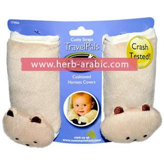 اغطية حزام امان للاطفال خداديات دبدوب ناعمة