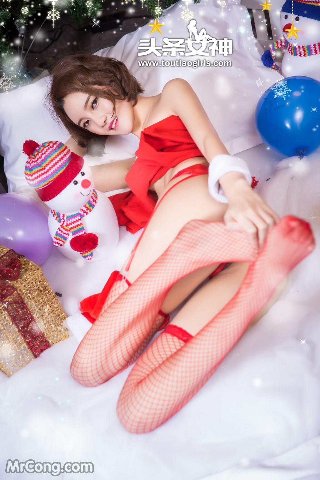 Image MrCong.com-TouTiao-2016-12-24-Wen-Xue-037 in post TouTiao 2016-12-24: Người mẫu Wen Xue (文雪) (38 ảnh)