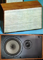 Dynaco A-35 Speaker with and without grill