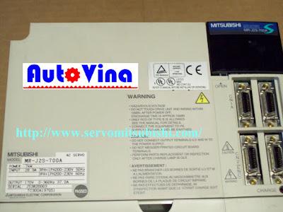 Nhà phân phối thiết bị tự động hóa Mitsubishi Drive Amplifier MelServo Mitsubishi 7000W MR-J2S-700A