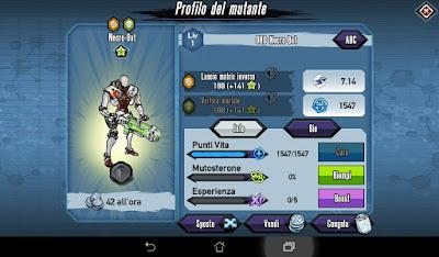 Mutants: Genetic Gladiators Breeding video N°123 (Android - Leech Lord)