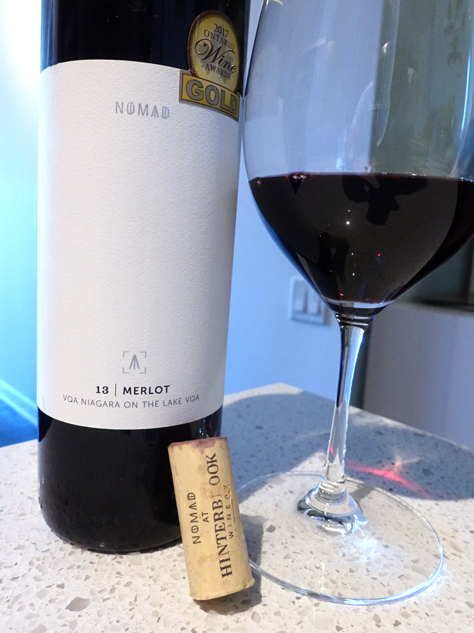 NOMAD at Hinterbrook Merlot 2013 (89 pts)