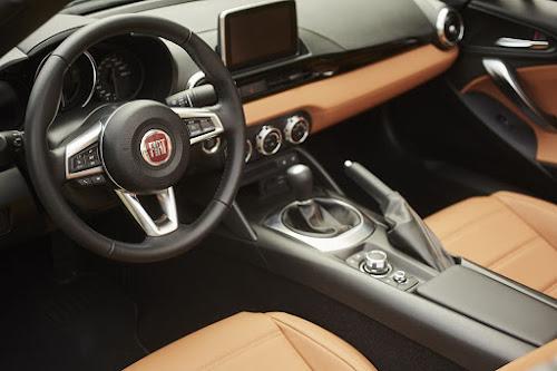 Modern Fiat 124 Spider Dashboard