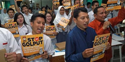 LSI: Golput Sangat Merugikan Jokowi-Ma'ruf