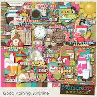 Kit :  Good Morning, Sunshine by BoomersGirl Designs