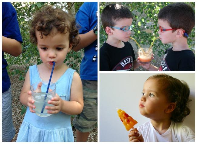 actividades y juegos refrescantes para niños aire libre, recetas cocina