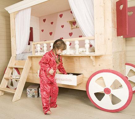 Dormitorios infantiles muy originales que encantar n a los - Habitaciones ninos originales ...