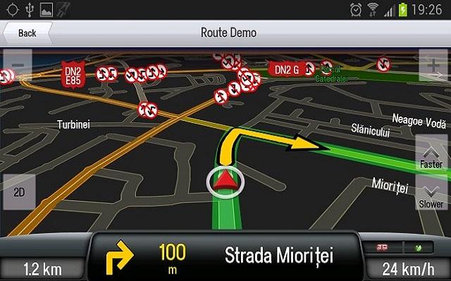 التطبيق CoPilot GPS - Navegación