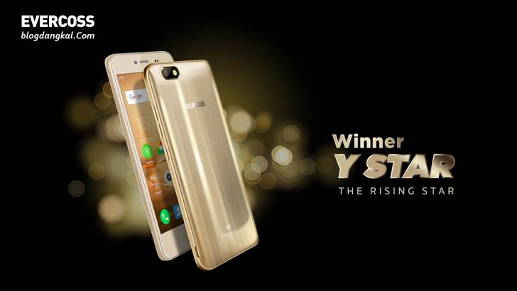 Mengenal Spesifikasi dan Harga Handphone Evercoss Winner Y Star