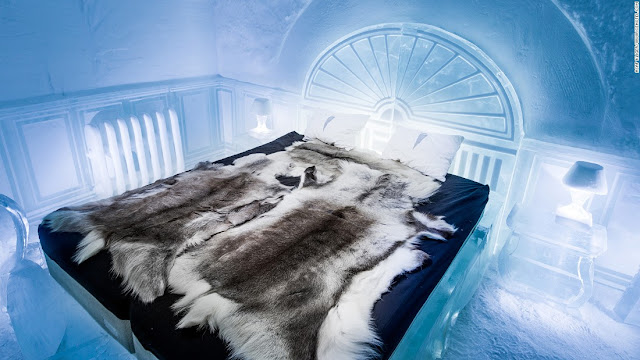 IceHotel 365 - World's First Permanent Ice Hotel Opens in Sweden